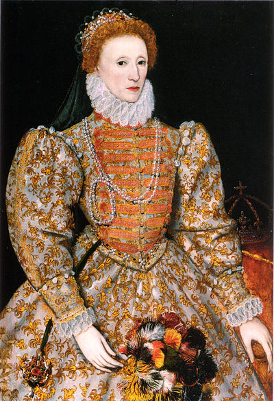 "Elizabeth I of England, who served as the Inn's patron during its ""golden age"". Darnley stage 3.jpg"
