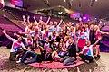 Das Team von GEDANKENtanken beim LIFEfest in der Olympiahalle in München, eine Veranstaltung rund um das Thema Persönlichkeitsentwicklung und Selbstverwirklichung von GEDANKENtanken.jpg
