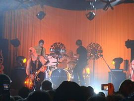 Daughtry live im Nokia Theatre, Times Square in NYC (2007)