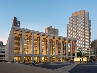 David Geffen Hall Concert hall in New York Citys Lincoln Center