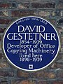 David Gestetener blue plaque.JPG
