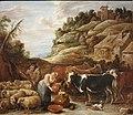 David II Teniers - La Traite du troupeau.jpg