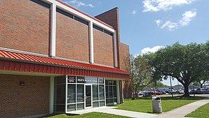 Stopher Gymnasium - Image: David R. Stopher Gymnasium (Thibodaux, Louisiana) players entrance