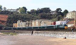 Dawlish - GWR 43187-43188 up Cornish Riviera.JPG