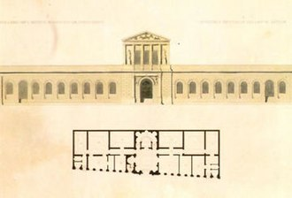 Imperial Academy of Fine Arts (Brazil) - Architectural plans for the Academy, published by Debret