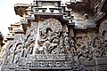 Decorated outer walls Hoysaleswara Temple Halebid (5).jpg