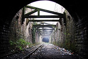 Preston and Longridge Railway - Miley Tunnel