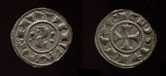 Republic of Siena - Medieval coin of the Republic of Siena (12th century)