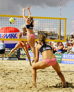 Denise Johns British beach volleyball player