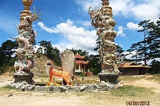 Ninh Sơn District Place in Vietnam