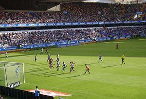 Deportivo de La Coruña - Match at Riazor