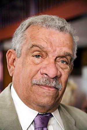 Derek Walcott - Walcott at an honorary dinner in Amsterdam, 20 May 2008