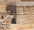 Detail SW Corner of Temple Model of Jerusalem in the Second Temple Period (2014-06 Jerusalem 008 14755024938).jpg