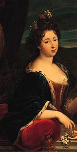 Detail of portrait by Nicolas Fouché of Marie de Lorraine (1674-1724).jpg
