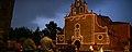 Detalle de la iluminación extraordinaria durante la noche del Santuario de la Virgen de Linarejos (Linares).jpg