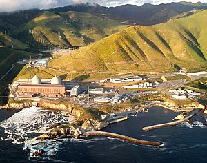 Diablo Canyon Power Plant in San Luis Obispo, CA