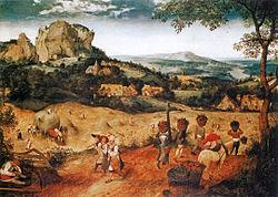 Питер Бројгел Постариот: The Hay Harvest