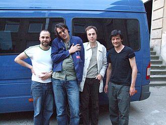 Die Sterne - Die Sterne in Magdeburg in 2006 (Thomas Wenzel, Frank Spilker, Richard von der Schulenburg, Christoph Leich)