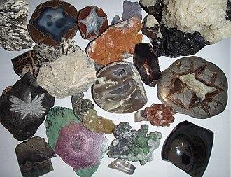 Объекты минералогии