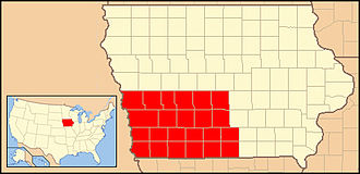 Roman Catholic Diocese of Des Moines - Image: Diocese of Des Moines