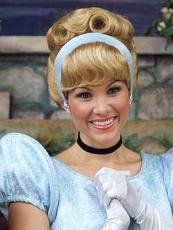 Cinderella as she appears at Disney Parks.