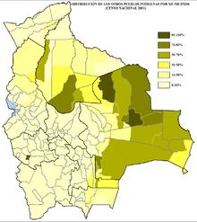 los municipios en bolivia: