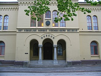 NTNU University Museum - The former main entrance to the museum
