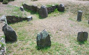Jersey dolmens - La Hougue des Géonnais