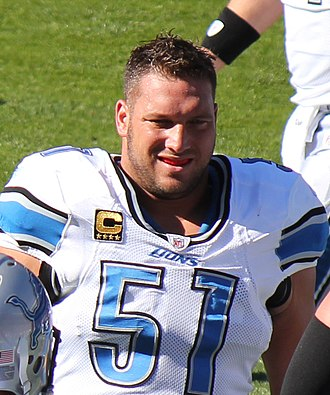 Dominic Raiola - Raiola playing for the Lions in 2011.