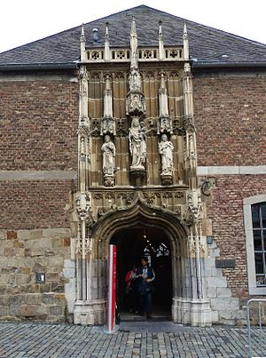 Aachen Cathedral Treasury - Entrance to the Aachen Cathedral Treasury