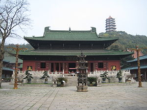 Huiyuan (Buddhist) - Donglin Temple at Mount Lushan