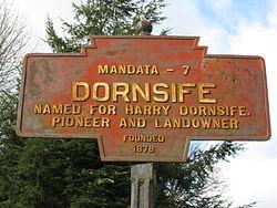 Official logo of Dornsife, Pennsylvania