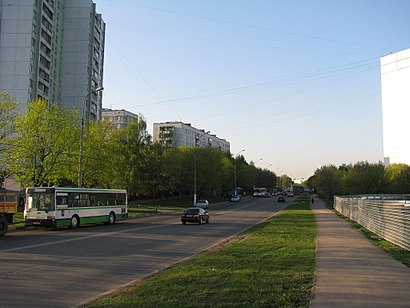 How to get to Дорожная Улица 5 with public transit - About the place