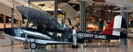 The sole surviving Douglas Dolphin at the U.S. National Museum of Naval Aviation. - Douglas Dolphin