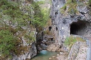 Tržič Bistrica - The Tržič Bistrica in the Dovžan Gorge