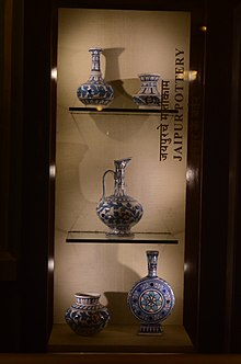 Blue Pottery Of Jaipur Wikipedia