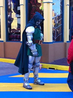 Dr Doom cosplay