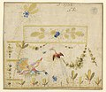 Drawing, Embroidery Design for a Gilet- Birds in a Garden, 1780–90 (CH 18214273-2).jpg