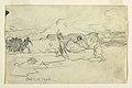 Drawing, Fishermen Beaching a Dory, October 10, 1900 (CH 18174413).jpg