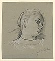 Drawing, Head of an Italian girl, ca. 1885 (CH 18404367).jpg