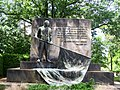 Dresden Garnisonfriedhof Bronzeplastik Rogge 1.JPG