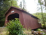 Drift Creek Covered Bridge, 2013