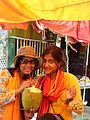 Drinking green coconut at Cox's Bazar (3994259542).jpg
