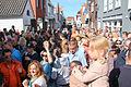 Drukte in de voorstraat koningsdag 2015 Spijkenisse.jpg