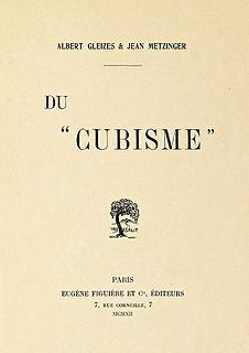 """<i>Du """"Cubisme""""</i>"""