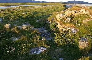 Dun Vulan - Eastern entrance of Dun Vulan