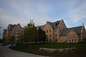 Dunne Hall (University of Notre Dame) - Dunne Hall