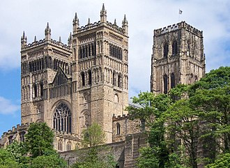 William de St-Calais - The west façade of Durham Cathedral, which was started by William de St-Calais in 1093