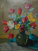 E. Gaston Callens - Bloemen Tulpen.jpg