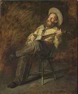Eakins - Cowboy singing